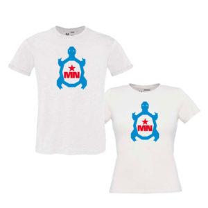 Camiseta-chica-blanca-TORTUGA-modelos