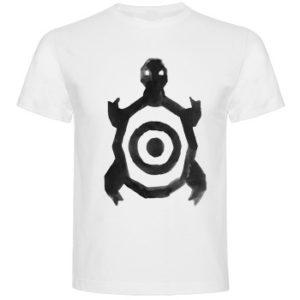 camiseta_unisex_y_niño_blanca_tortuga_tamaño_bueno